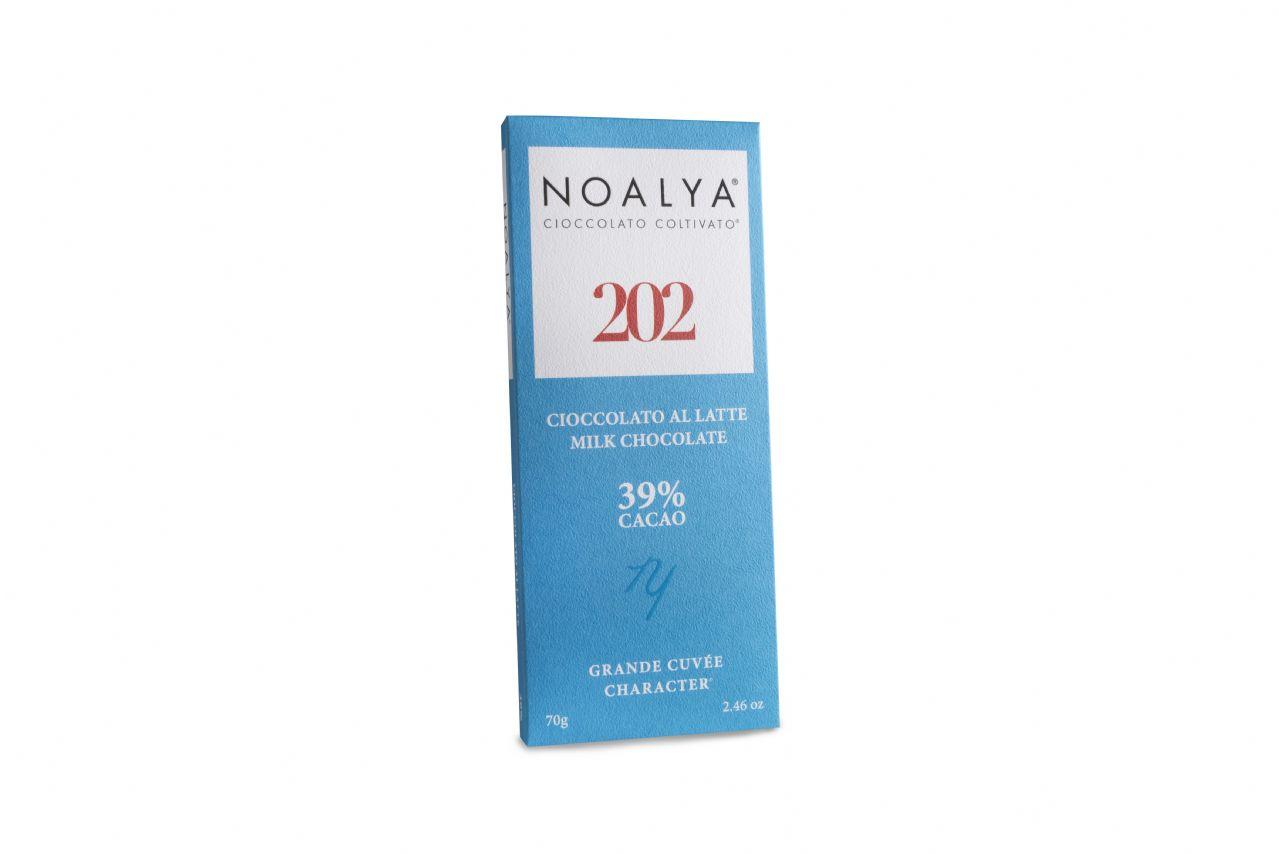 Cioccolato al latte 202 Noalya 39% cacao